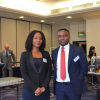 Megan Maclean and Edmund Onyame, Ghana Investment Promotions Centre