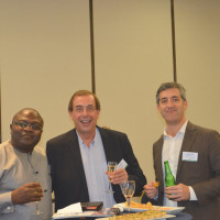 Teddy Ngu, corporate affairs director, GB Foods with guests